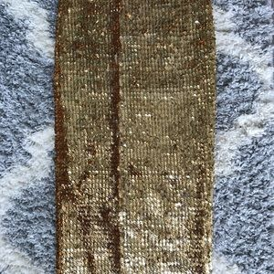 ASOS Skirts - Sequins pencil skirt (gold)